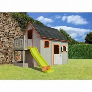 Maison Enfant Castorama : soulet maison enfant cabane en bois duplex soulet pickture ~ Premium-room.com Idées de Décoration