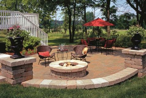patio pit designs ideas outdoor fire pit seating ideas quiet corner