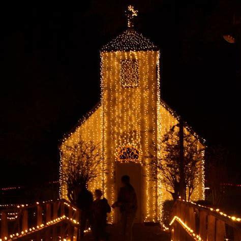 acadian village christmas lights lafayette la at acadian church in lafayette la