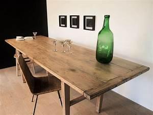 Tréteaux Pour Table : table bistrot banquet ferme vintage treteaux maison simone nantes ~ Melissatoandfro.com Idées de Décoration