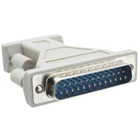 acl db9 to db25 serial at modem adapter 4 walmart com