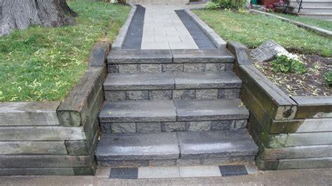 Unilock Steps - unilock series 3000 walkway