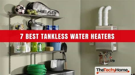 electric tankless water heater 7 best tankless water heaters in 2018 reviewed the techyhome