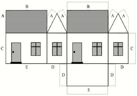 castle templates paper cut
