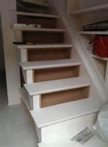 Bureau Sous Escalier Sans Contremarche by Biblioth 232 Que Dessous D Escalier Placard Et Dressing Sur