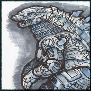 Kaiju News | Everything Kaiju: Mechagodzilla Concept Art ...