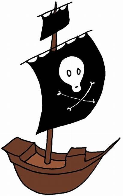 Pirate Clipart Ship Clip Cartoon Graphics Pirates