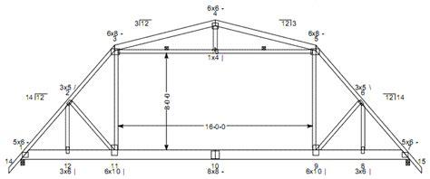 2 house blueprints gambrel roof truss plans home plans blueprints 30047