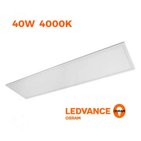 decorative fluorescent light diffuser osram ledvance panel led 1200 40w 4000k 230v