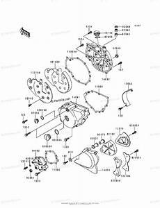Kawasaki Motorcycle 1998 Oem Parts Diagram For Engine