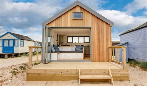 cabin designs and floor plans mudeford hut design study ecologic developments