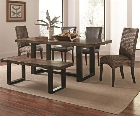 westbrook dining casual rustic  piece mix  match