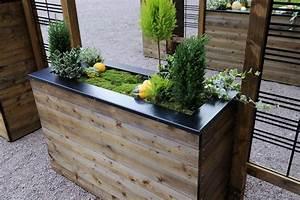 Jardinière Rectangulaire Pas Cher : jardini re bois rectangulaire jardipolys mod le collectors petit prix ~ Preciouscoupons.com Idées de Décoration
