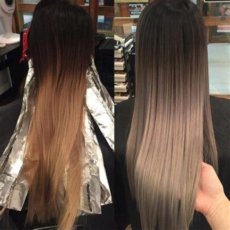 la tendance couleur cheveux hiver  coiffure