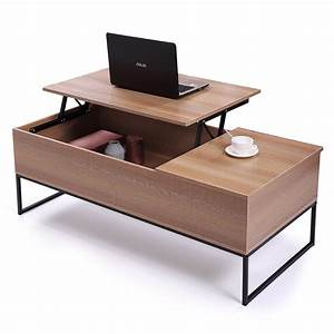 Modern, Home, Lift, Top, Coffee, Table, W, Hidden, Compartment, And, Storage, Drawer