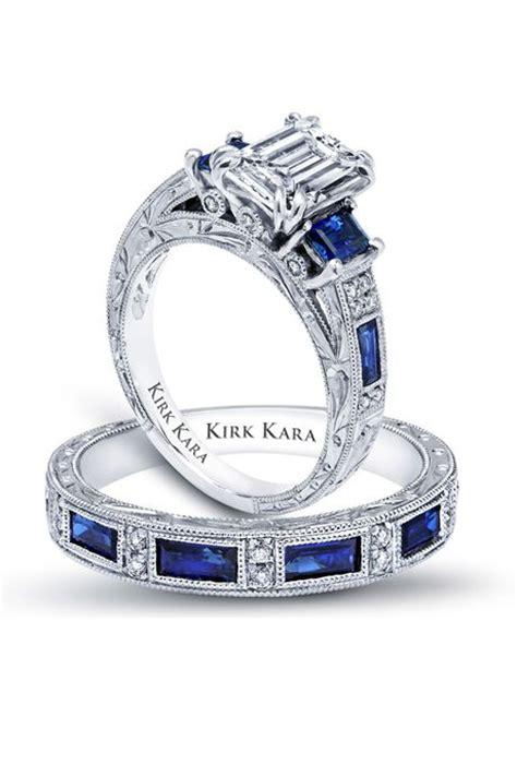 blue sapphire engagement ring by kirk kara charlotte