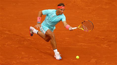 Nadal drops only four games in French Open second round
