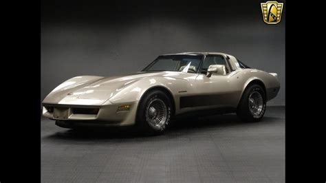 Limited Edition Corvette by 1982 Chevrolet Corvette Limited Edition Stock 553 Det