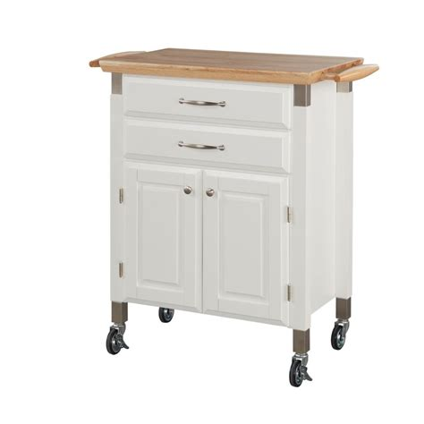 kitchen island cart canada home styles dolly white kitchen cart the home