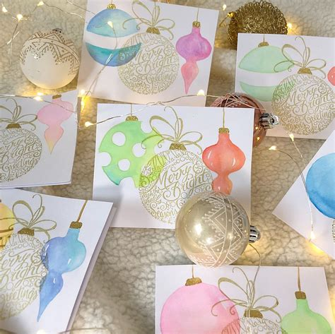 We did not find results for: DIY Watercolor Christmas Cards - Jess Just Made
