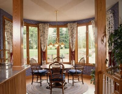 decide   window treatment   dining room