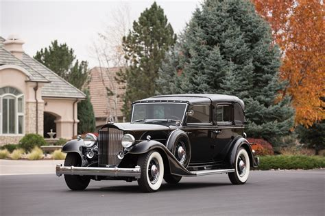 Wallpaper Packard Twelve, Retro, Packard, Classic Cars