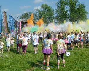 hershey color run hershey color run for the non profit rett org
