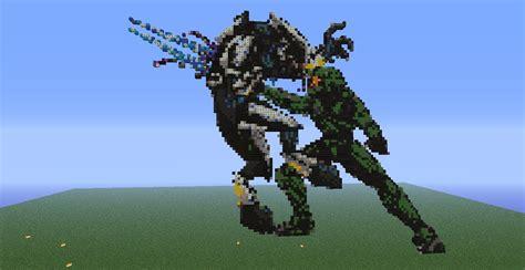 Good Vs Evil Images Aliencarpet Does Pixel Art Master Chief Vs Elite Timelapse Youtube