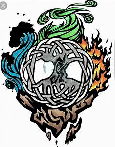 Tatouage 4 éléments : bildergebnis f r les 4 l ments tatouage tattoos ~ Nature-et-papiers.com Idées de Décoration