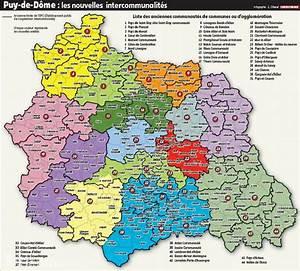Préfecture Clermont Ferrand Carte Grise : puy de d me quelle sera votre intercommunalit demain clermont ferrand 63000 la montagne ~ Medecine-chirurgie-esthetiques.com Avis de Voitures