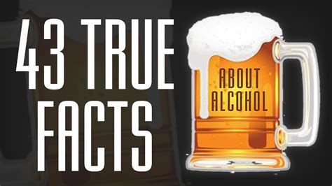 shocking facts  alcohol