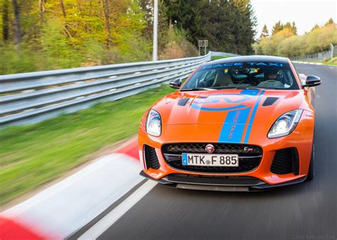 An F-type Svr And Xjr575 Race Taxi Go Hard At The