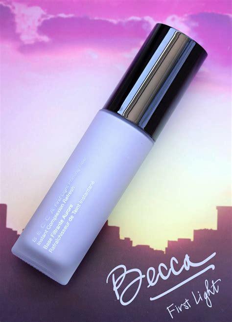 becca first light becca first light filter face primer review makeup and