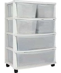 Temporary Drawers by 5 Drawer Plastic Slim Tower Storage Unit Silver