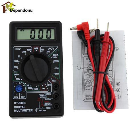 dt 830b lcd digital multimeter ac dc 750 1000v voltmeter