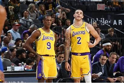 Lakers Lonzo Ball Rondo Rajon Angeles Players