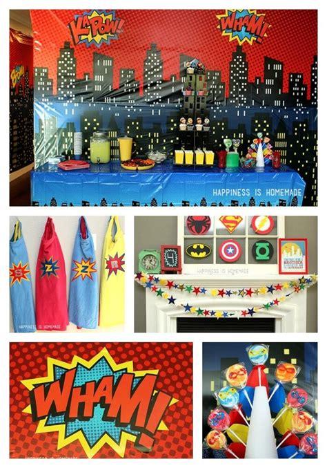 superhero  night birthday party ideas happiness