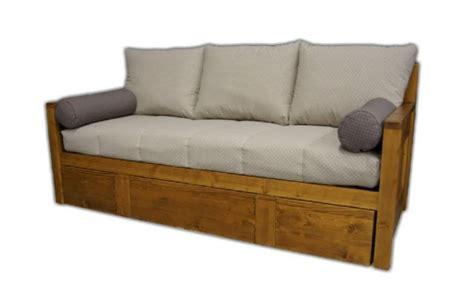 canapé en bois massif canap convertible banquette bz rapido clic clac