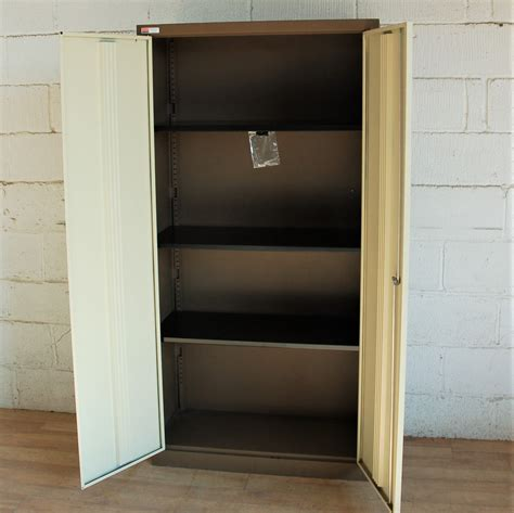 Stationary Cupboard by Stationery Cupboard Brown 5086 Allard Office Furniture
