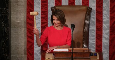 speaker of the house in nancy pelosi is elected house speaker for the second time