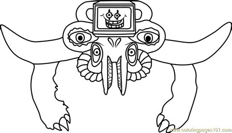 photoshop flowey undertale coloring page  undertale