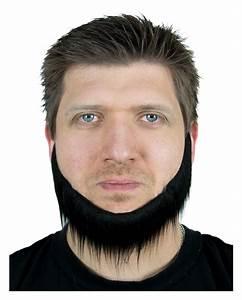 Black jaw chin-beard for Halloween Costumes   - Karneval ...