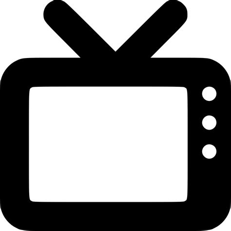 tv channel media television svg png icon