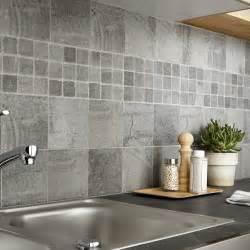 carrelage sol et mur gris vestige l 15 x l 15 cm leroy