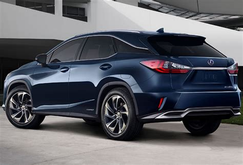 lexus rx 450h 2020 2020 lexus rx 450h facelift interior colors changes