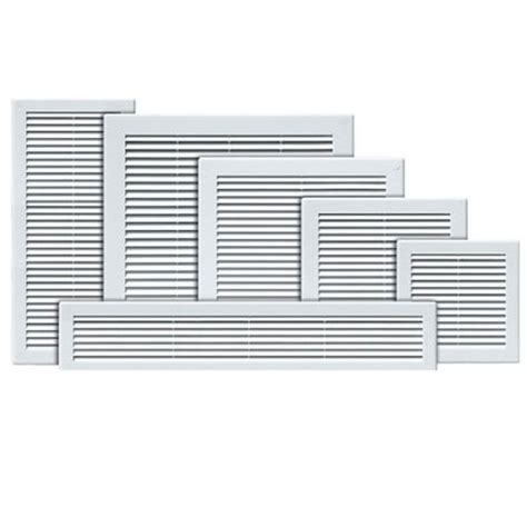 bathroom fan vent air vent grille white wall ducting ventilation cover grid