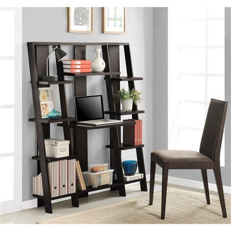 Ameriwood Home Gradient Ladder Deskbookcase, Espresso Ebay