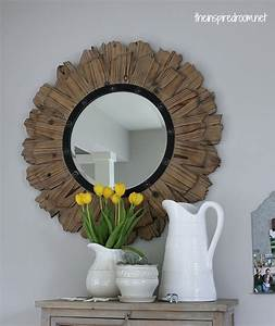 New Mirror in the Kitchen {Round Mirror Obsession} - The