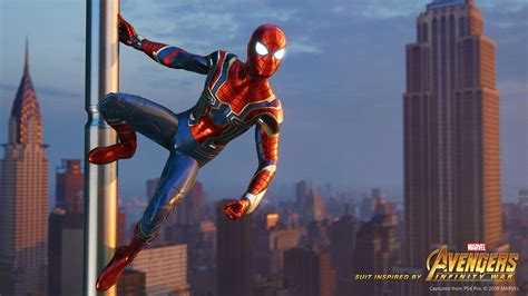 Iron Spider Suit Inspired By Marvel's Avengers Infinity