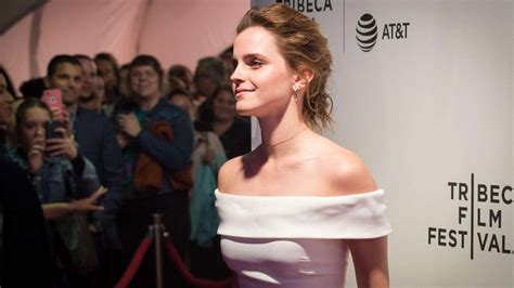 Emma Watson Gbp Million Donation Anti Harassment